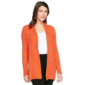 Linea by Louis Dell'Olio Boucle Knit Open Front